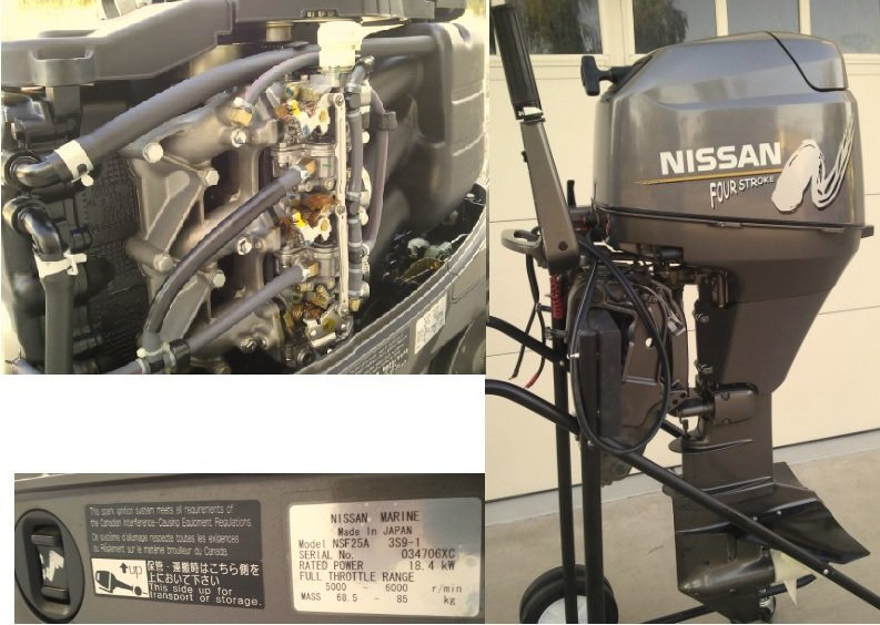 nissan 25 hp outboard review
