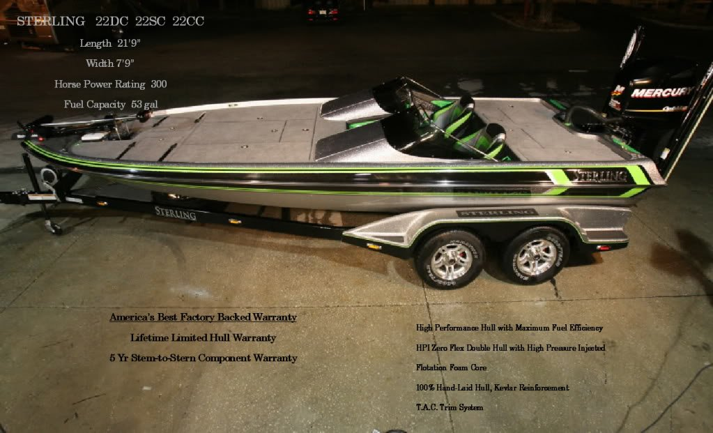 Sterling Coming To AZ AZBZ Forums - Gambler bass boat decals